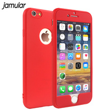 Buy JAMULAR Full Protector Phone Bag Case iPhone 8 7 Plus Silicone Soft Cases Scrub Cases iPhone 6 6s Plus Case Cover for $2.43 in AliExpress store