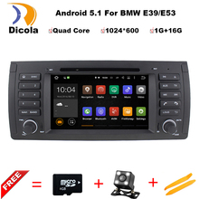 "Android 5.1.1 Quad Core GPS Navigation 7"" Car DVD Player for BMW E39 1997-2007/Range Rover 02-05 with Bluetooth/RDS/Radio/Canbus"