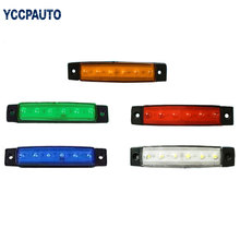 24V LED Turn Signal Light Side Marker Lamp For Car Truck Trailer Lorry Lamps For Bus Truck(China)
