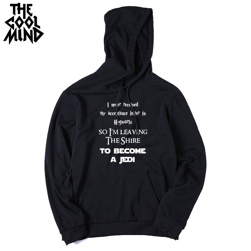 THE COOLMIND Top quality cotton blend game of thrones men hoodies casual winter is coming house of stark men sweatshirt with hat 9