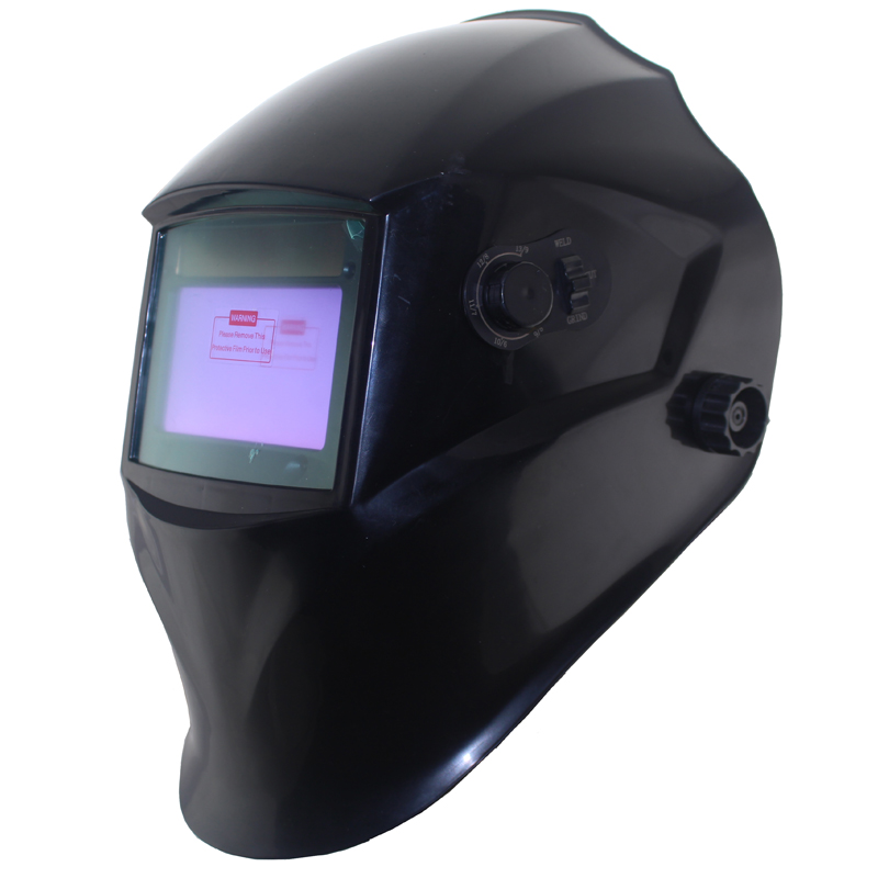 Welding accessories Out control Big view area DIN5-DIN13 4 arc sensor Solar Auto darkening tig mma mig welding mask/helmet<br>
