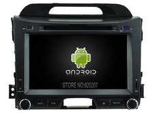 Android 5.1.1 CAR Audio DVD player gps FOR KIA SPORTAGE 2011 Multimedia navigation head device unit receiver