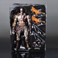 SQUARE ENIX Play Arts KAI God of War Kratos PVC Action Figure Collectible Model Toy 22cm KT1785