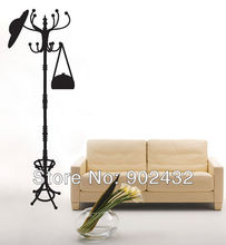 Fake Vintage Coat Rack Wall Decals Stickers Furniture Living Room Decor Mural Sticker - JiaMing Home Decoration