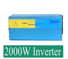 2000W Pure Sine Wave Inverter 5000w peak For Wind and solar energy High Qualit pv inverter 2000watt