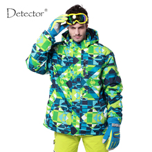 Detector new waterproof windproof hiking camping outdoor jacket winter clothes outerwear ski snowboard jacket men(China)