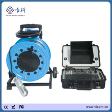 100 metre cable down hole camera survey instrument borehole pipe Inspection Camera with video recorder V8-3288PT-2