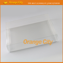 Clear transparent for SNES N64 Game box Protector Case CIB games plastic PET Protector for Nintendo game boxes 10pcs/lot(China)