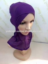 20pcs/bag Summer Beautiful crossover grenadine ventilate ninja muslim underscarf