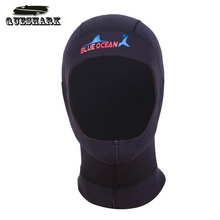 3mm Neoprene Scuba Diving Cap Snorkeling Equipment Hood Winter Swim Hat/Cap Warm Wetsuit Protect Hair