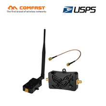 4W 4000mW 802.11b/g/n WIFI Wireless amplifier 2.4Ghz WLAN ZigBee bluetooth Signal Booster with Antenna TDD for computer USPS(China)