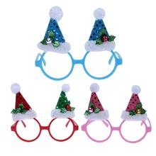 Halloween/Christmas Cosmetic Makeup Tools Party Funny Accessory Glasses For Children Gags Practical Jokes(China)