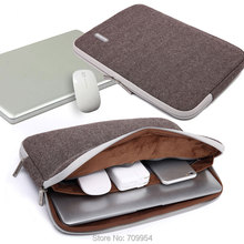 "Nylon 11""13""13.3""14""14.1""15""15.4""17"" Laptop Bag Cover Sleeve Notebook Case For Macbook Air Pro Sony Dell HP"