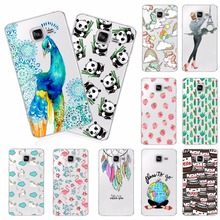 Fashion Printing Soft TPU Mobile Cover Cases For Samsung Galaxy J1 Mini J3 J5 J7 2016 Soft Silicone TPU Back Cover Phone Cases
