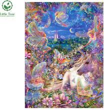 diy diamond painting child's fairy tale series hobby handmade needlework wall decor picture of resin rhinestones scroll painting(China)