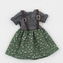 Fortune Days Blyth doll Floral skirt for the lady dressing Factory Blyth(China)