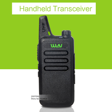 WLN KD-C1 black UHF 400-470 MHz long Range Radio Mini Handheld Transceiver Ham radio hf transceiver handheld walkie talkie(China)