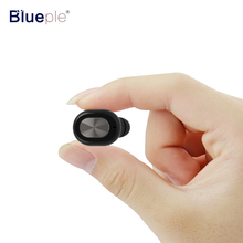 Blueple Q702 Bluetooth Earphone Handsfree Mini Wireless Sport Headset with Microphone Sweetproof Earbuds for mp3 xiaomi(China)