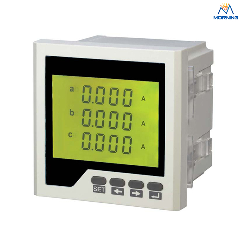 3AA3Y three phase Digital AC to DC wholesale 96*96mm current transformer ammeter<br>
