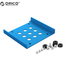 ORICO Aluminum 2.5 to 3.5 inch Hard Disk Drive Mounting Bracket Kit Free Installation Screws Support SSD/HDD SATA and IDE Port(China)