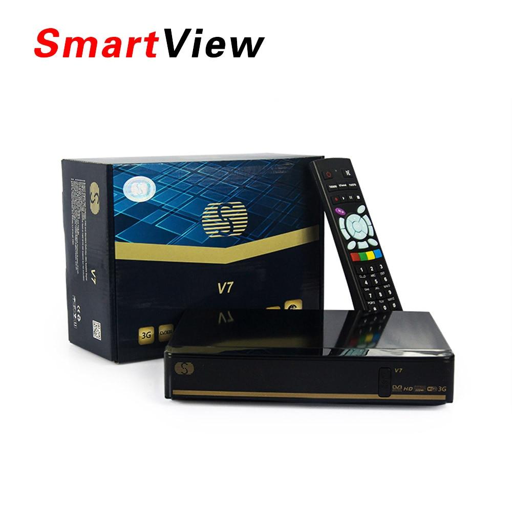 Original S-V7 Digital Satellite Receiver S v7 AV output VFD Support WEB TV 3G USB Wifi Biss Key Youporn CCCAMD NEWCAMD<br><br>Aliexpress