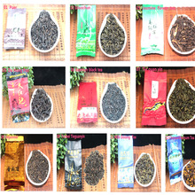 Pu er tea 18 Different Flavor Chinese Tea,Tieguanyin,Dahongpao,Green tea,Ginseng Oolong,Longjing,Oolong tea,Free Shipping