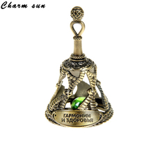 8 colors.Decorative charms small bell.Beads.Small bell.Casting cooper bells.Pierced home decoration.Metal crafts