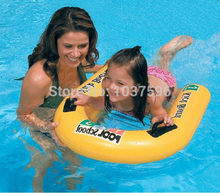 Intex outdoor fun &sport kickboard swim board airmattress,swimming board for child with handle,size 81CM*76CM