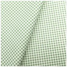 Green Grid 100% Cotton Quilting Fabric for DIY Sewing Patchwork Kids Bedding Textile Bags Tilda Doll Baby Cloth Textiles Fabric