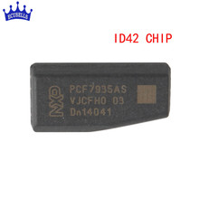 ID42 Carbon Auto Transponder Ceramic Car Blank Key Chip For Jetta