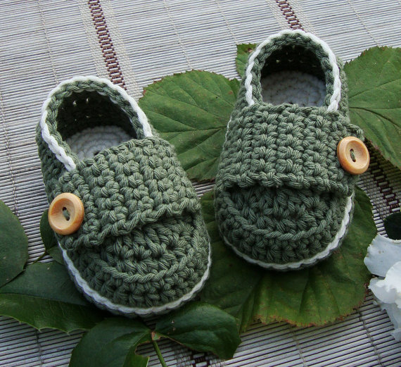 Casual Knitted Handmade Knit Booties For Girls//boys Baby Shoes Newborn Crochet