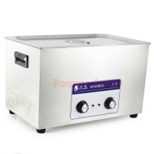 RY- JP-100 30L stainless steel industrial ultrasonic cleaner Laboratory equipment high power deoiling cleaner derusting washer(China)