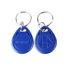 15 piece RFID Key ISO Fobs 125kHz Proximity ABS ID   Tag Access Controller keys in blue with number