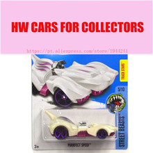 2017 New Hot Wheels white purrfect speed car Models Metal Diecast Car Collection Kids Toys Vehicle Juguetes(China)
