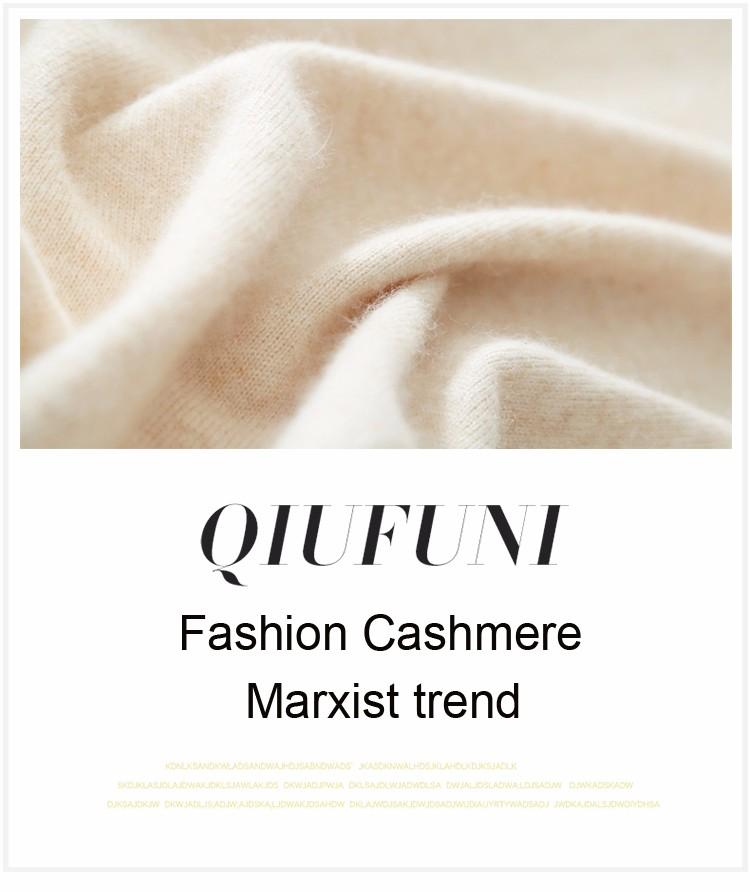 Cashmere Sweater V Neck Women Fashion Autumn Pullovers Knit Cashmere Sweater Women Slim Knit Coat Female Blouse Winter Knitwear 6