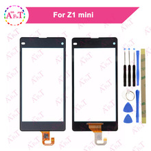 "Buy 4.3"" Sony Xperia Compact Z1 Mini D5503 M51W Touch Screen Digitizer Sensor Outer Glass Lens Panel 3m glue Free for $5.99 in AliExpress store"