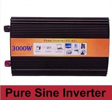 DHL Or Fedex 3000W Pure Sine Wave Inverter 6000W Peak For Wind and solar energy High Quality