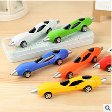 1pcs Multicolor Novelty Classical Toys Car model Ballpoint Pens Vehicles Learning And Education School gift Free Shipping