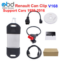 2017 Newest Renault Can Clip Scanner V168 Auto Renault Scanner Interface With High Quality Renault Clip Support Multi-Language