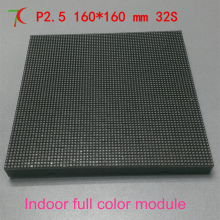 Watch  P2.5  indoor for hotel, multimedia,advertisement  full  color module ,32S SMD  1RGB, 160mm*160mm