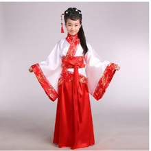 china hanfu dress christmas dance costumes for kids traditional chinese tang ancient costume classical children kid girls(China)