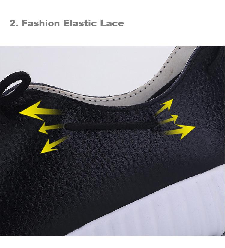 AH 2816 (5) Women's Leather Flats Shoes