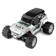 Wltoys New Arrival Electric 1:18 RC Big Foot Car 4WD High Speed Off Road Racing Car 45KM/h Remote Control Radio Cars Toy(China)