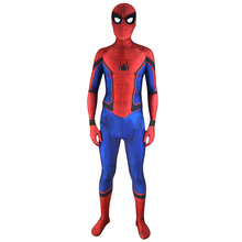 amazing High Quality spider-man spiderman homecoming Cosplay 2017 Civil War Spider Man Suit halloween costumes men adult fancy