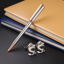 Luxury Stationery Executive Office Supplies 218 Silver raised Ballpoint Pen unique desigh Cufflinks gift pen