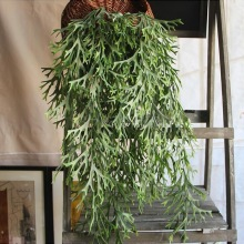 Artificial plants Nine cows horn hanging vines Wedding Balcony Flower Vine Home Decoration Holiday simulation flower(China)