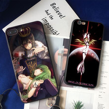 Code Geass Lelouch CC Coque soft silicone TPU Phone Case cover For Apple iPhone 5 5S SE 6 6S 6Plus 6sPlus 7 7Plus 8 8Plus X(China)