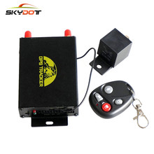 SKydot TK105B Car GPS Tracker Fuel Sensor Real Time Vehicle Tracking Device GSM GPRS Motorcycle Speed Detection Locator GPS105B(China)