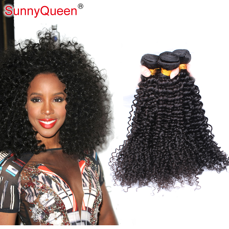 Sunny Queen Hair Products 6A 3PCS Bohemian Virgin Hair Weave Kinky Curly Human Remy Hair Weave Bohemian Kinky Curly Hair Bundles<br><br>Aliexpress