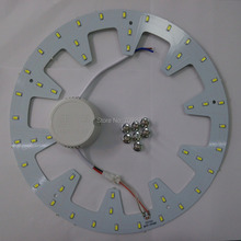 2 sets/lot 12W 18W 24W white/warm white/nature white LED panel board light 5730/5630 Round Ceiling circular light+driver 987